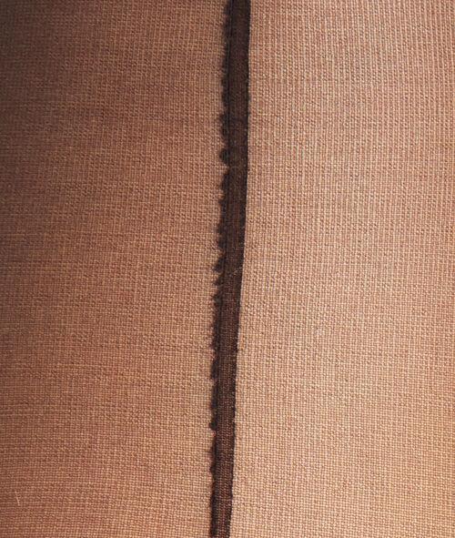 Колготки вуаль 15d шов сзади