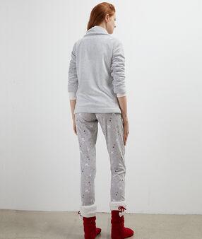 Пижама из 3 предметов серый.