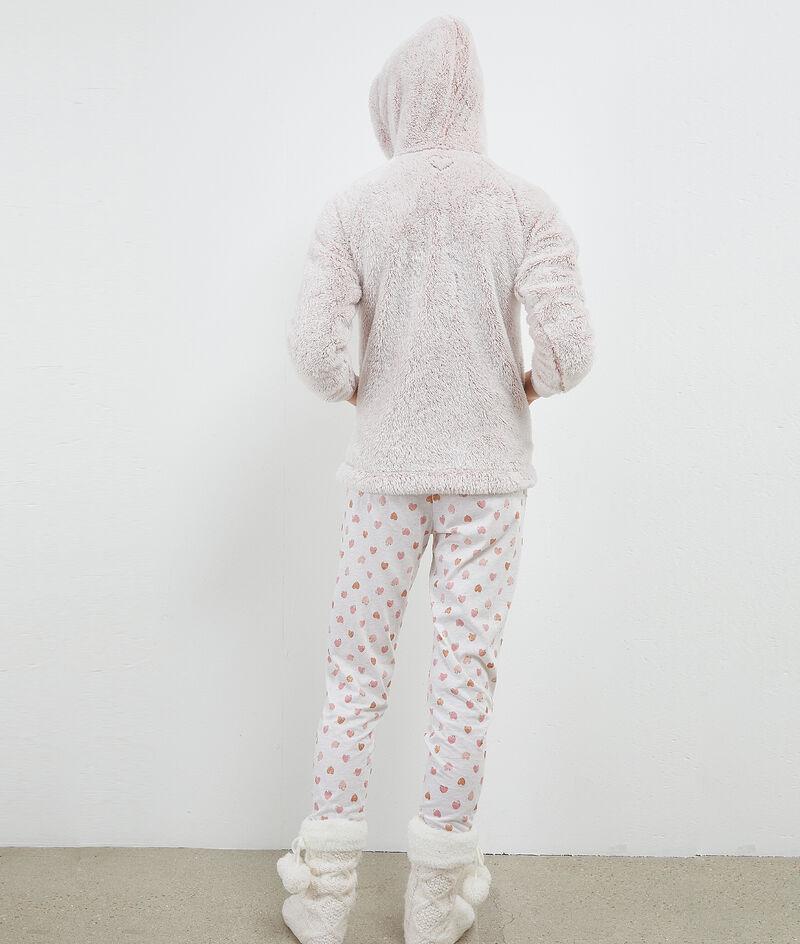 Пижама из 3 предметов с надписью 'love';${refinementColor}