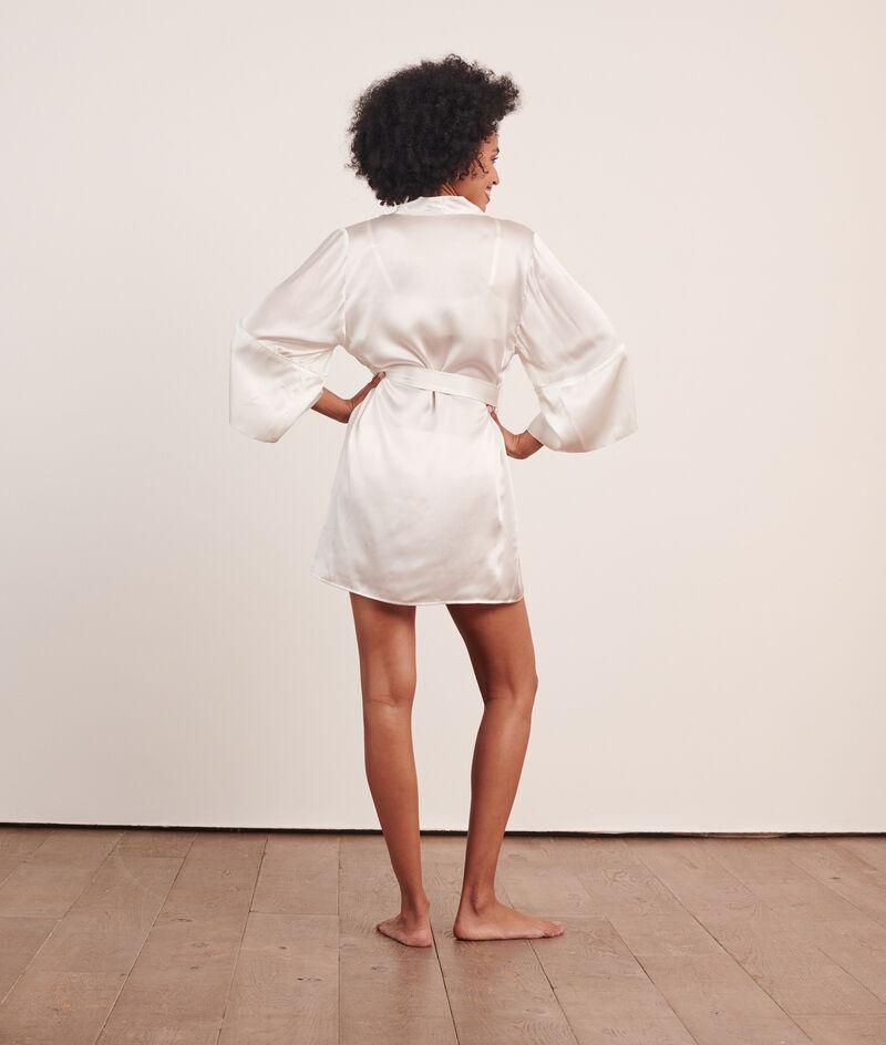 Халат-кимоно из натурального шелка;${refinementColor}