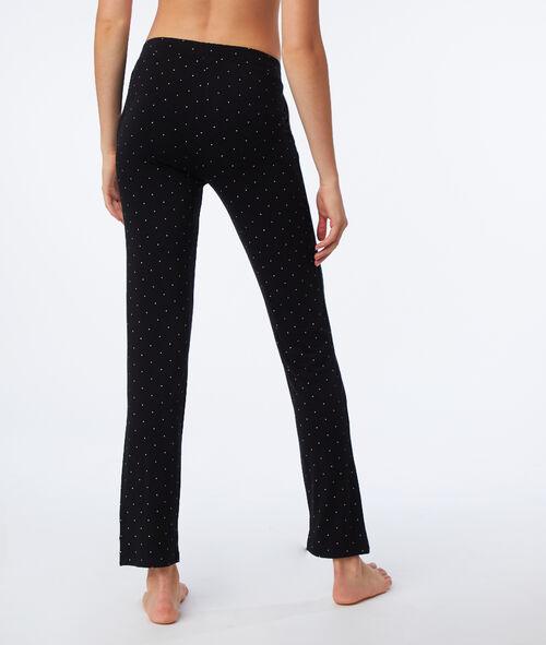 Pantalon de pyjama à pois