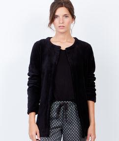 Комфортная рубашка черный.