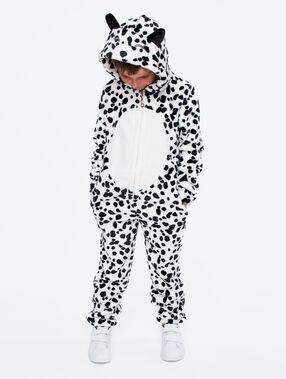 Пижама-комбинезон «детеныш далматинца» экрю.