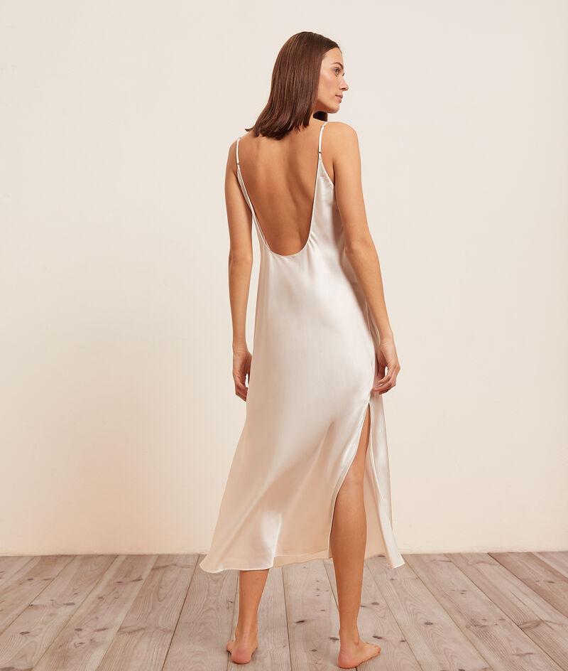 Платье-комбинация из натурального шёлка;${refinementColor}