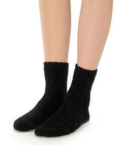 Толстые носки чёрный.