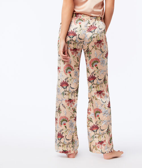 Широкие Атласные штаны