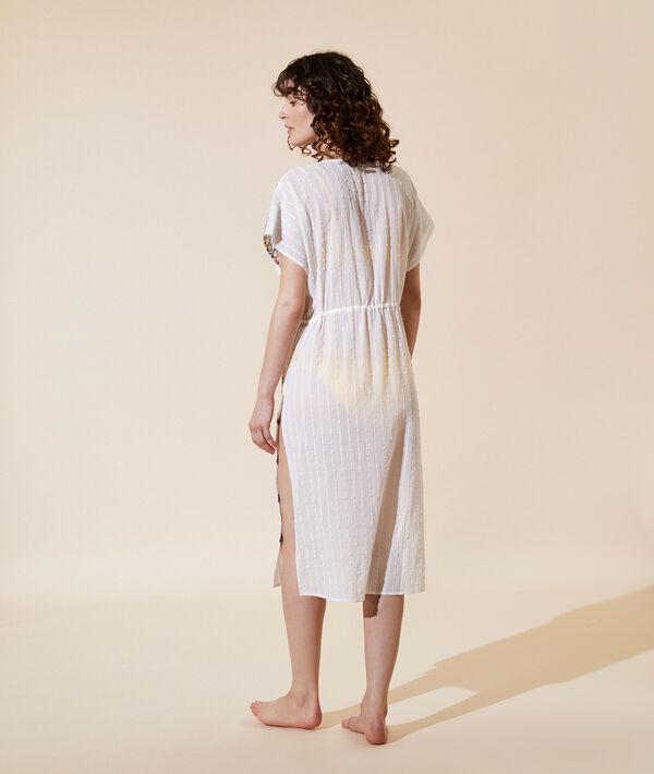 Длинное платье с вышивкой;${refinementColor}