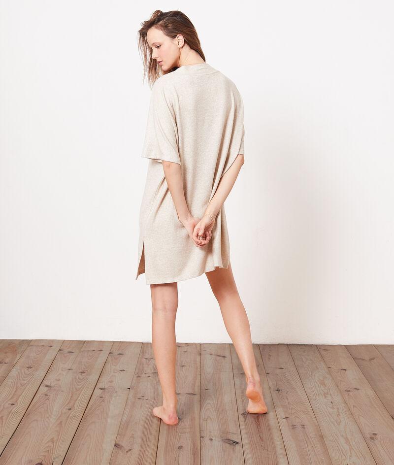 Платье из фактурной ткани;${refinementColor}
