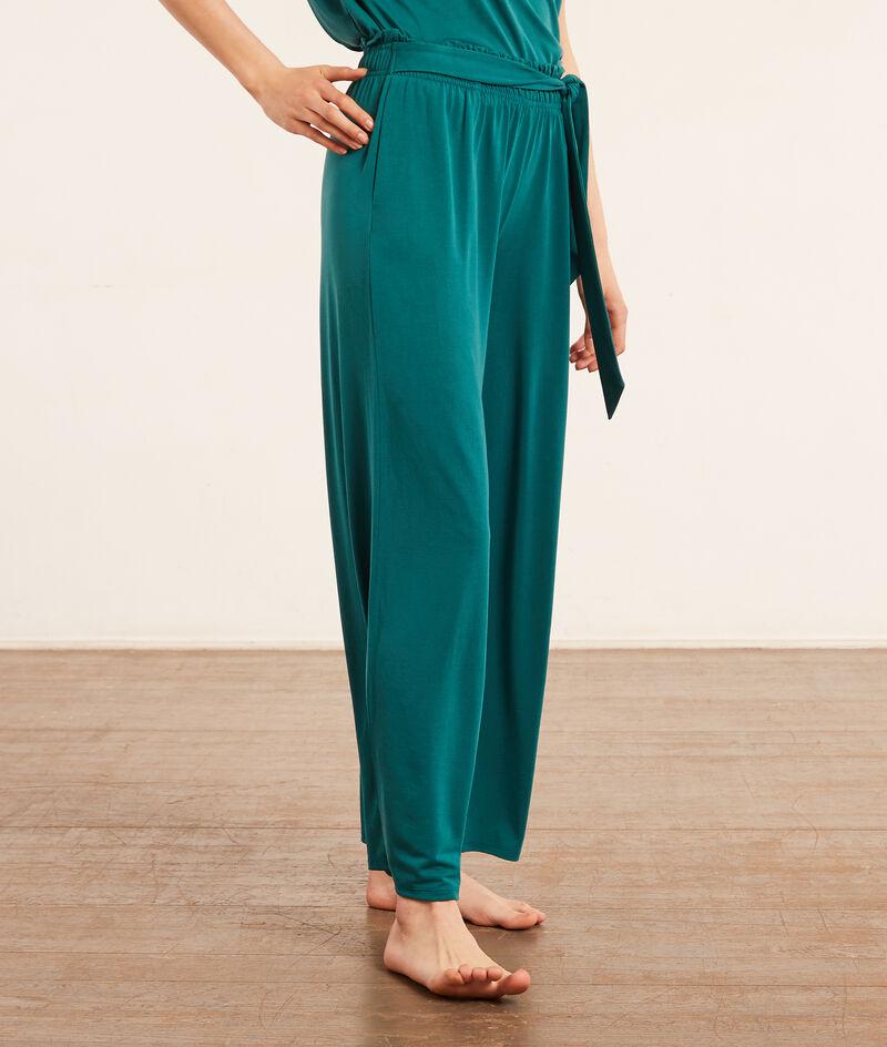 Пижамные брюки свободного кроя;${refinementColor}