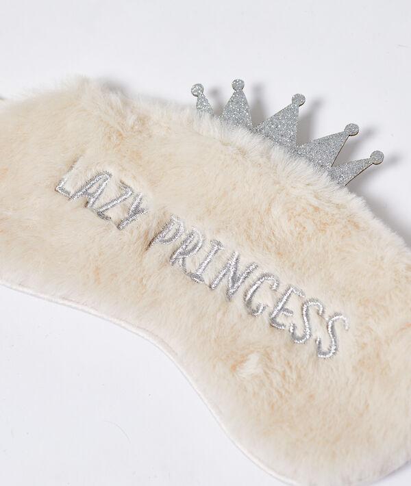 Маска для сна из искусственного меха 'lazy princess'