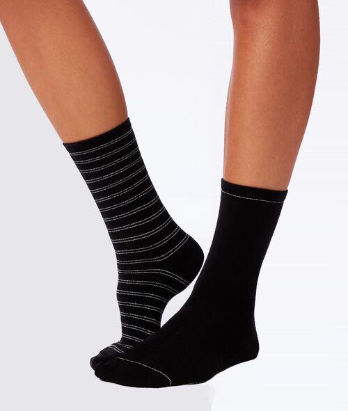 Набор из 2 носков с фантазийным узором