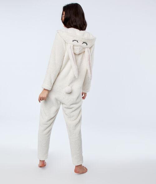 Пижама-комбинезон в виде зайца