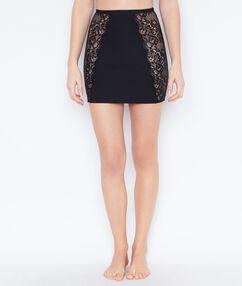 Моделирующая юбка черный.