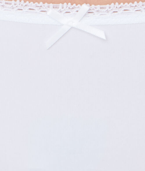 Комплект 3 хипстера кружево и микроволокно