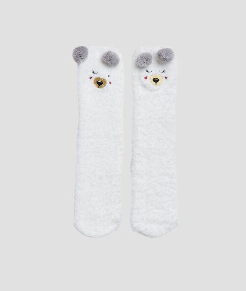 Носки с резиновой подошвой