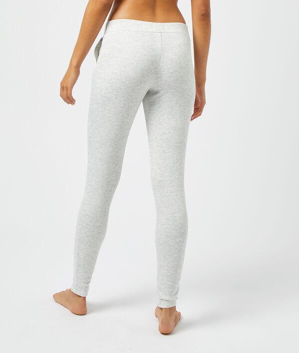 Пижамные брюки с объемными швами;${refinementColor}