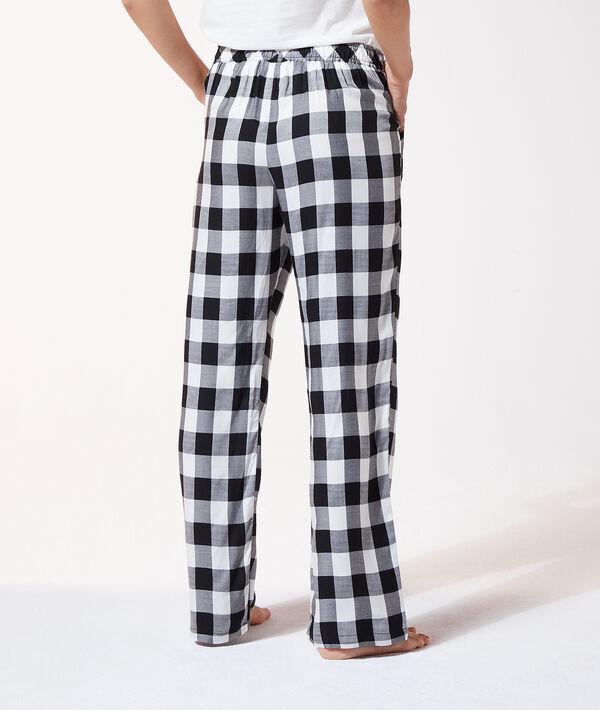 Пижамные брюки в клетку виши;${refinementColor}