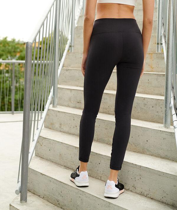 Леггинсы для йоги, средняя посадка на талии